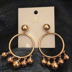 Kate Spade Large Bauble Earrings NWT